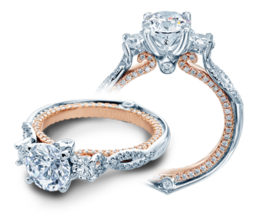 Verragio Couture 0423DR-TT Engagement Ring image 2