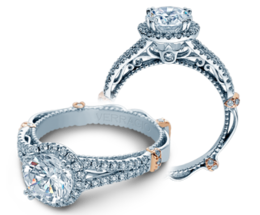 Verragio Parisian DL107R Engagement Ring image 2