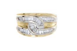 18k Estate Diamond Ring image 2