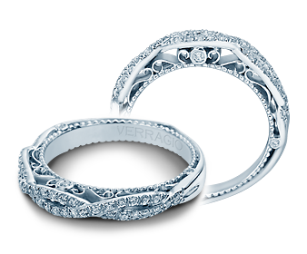Verragio Venetian 5005W Wedding Band image 2