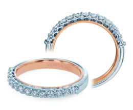 Verragio Renaissance 901W-TT Wedding Band image 2