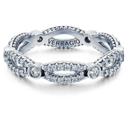Verragio Parisian W103R Wedding Band image 2