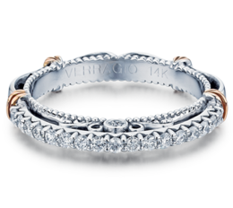 Verragio Parisian 121W Wedding Band image 2