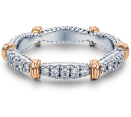 Verragio Parisian W102 Wedding Band image 2