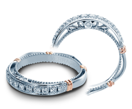 Verragio Parisian 101LW Wedding Band image 2