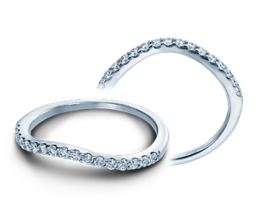Verragio Insignia 7010W Wedding Band image 2