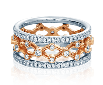 Verragio Eterna 4024-WRW Wedding Band image 2