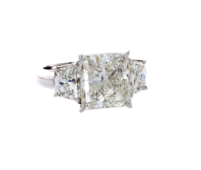 Radiant Diamond Ring image 2