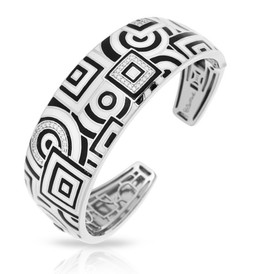 Geometrica Black & White Bangle image 2