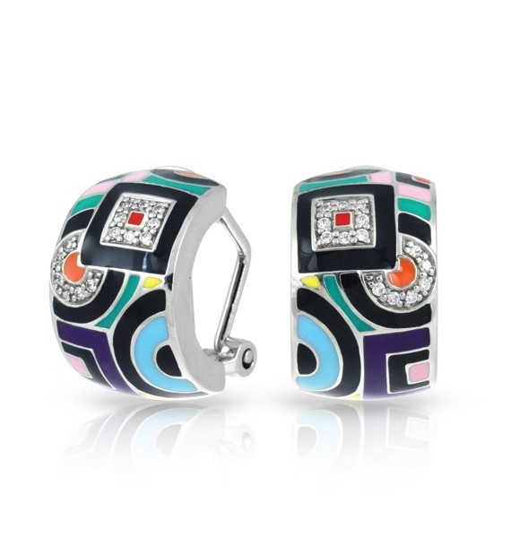 Geometrica Multicolor Earrings image 2