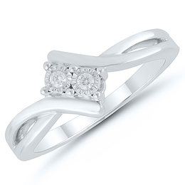Two Stone Diamond Ring image 2