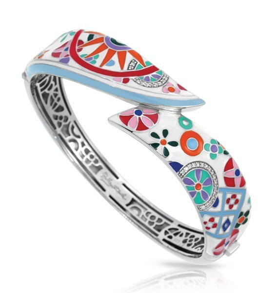 PASHMINA WHITE BANGLE image 2