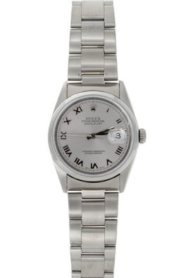 Pre-Owned Watch with Silver Dial image 2