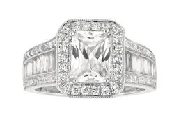 Martin Flyer Tapered Baguette Engagement Ring image 2
