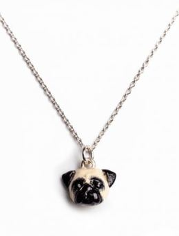 Pug dog breed necklace pendant a perfect gift for Pug dog owners jewelry by Dog Fever