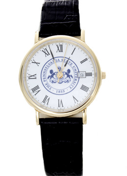 Penn State Men's Black Strap Watch image 2