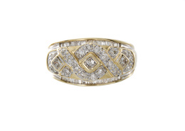 Estate Wide Diamond Fancy Band image 2