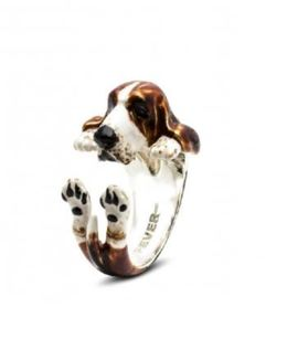 basset hound pet lover dog gifts hug ring of your lovable basset hound