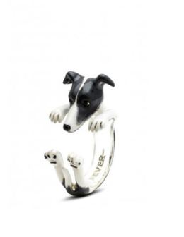 Whippet miniature English Greyhound dog breed gifts from Dog Fever Jewelers of fine quality hand made in Italy.