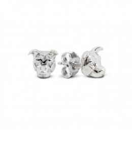 American Staffordshire dog breed gift of fine quality jewelry from Dog Fever Italian jewelers