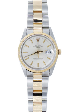 Rolex Pre - Owned Two-Tone Datejust image 2
