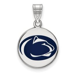 Penn State Sterling Silver Enameled Disc Charm image 2
