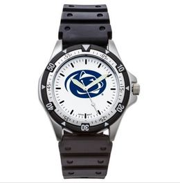 Penn State Rubber Band Watch with Lion Head Logo image 2