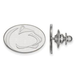 Penn State Sterling Silver Lion Head Lapel Pin image 2