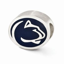 Penn State Enameled Lion Head Collegiate Bead  image 2
