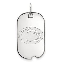 Penn State 10k White Gold Dog Tag Small image 2