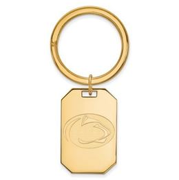 Penn State Gold Plated Sterling Silver Key Chain image 2