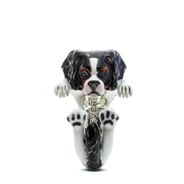dog breed cavalier king pet owner gifts high quality illustrated portrait jewelry