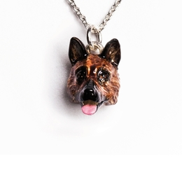Gifts for owners of German shepherd dogs. Excellent fine good quality pet owner gifts from Dog Fever jewelry gifts for dog owners.