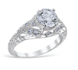 Vintage Filigree Engagement Ring image 2