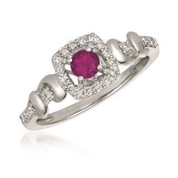 LeVian Passion Ruby Ring with Vanilla Diamond Accents image 2