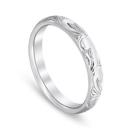 Western Inspired Engraved Scroll work band image 2