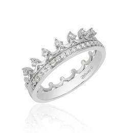 Princess Silver Tiara Ring image 2