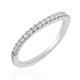 Ariel 14Kt White Gold Bridal Ring Set image 3