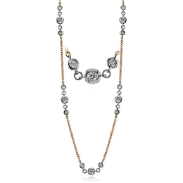 Simon G Modern Enchantment Diamond Necklace image 2