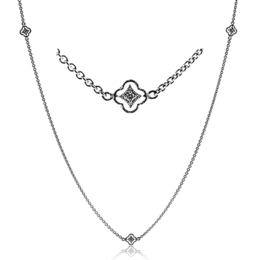 Simon G Vintage Explorer Diamond Necklace image 2