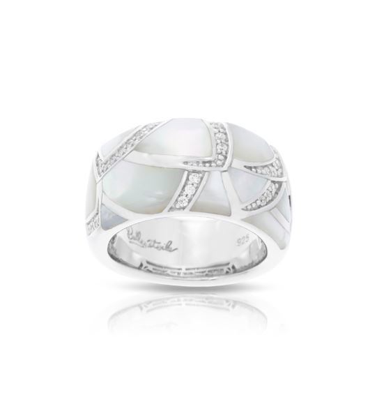 Sirena Ring Mother of Pearl image 2