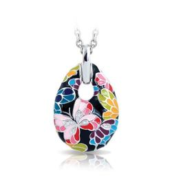 Belle Etoile Butterfly Kisses Black Pendant image 2