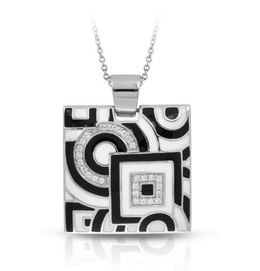 Geometrica Black and White Pendant image 2