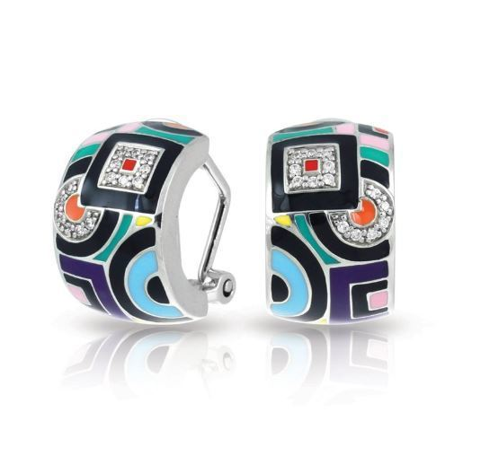Geometrica Multi Color Earrings image 2