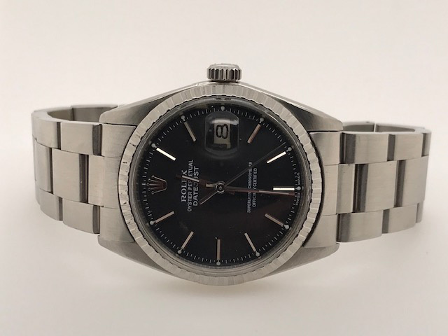 Rolex Pre-Owned Datejust with Slate Dial image 2