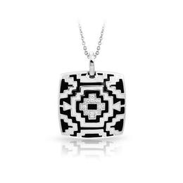 Belle Etoile Aztec Black and White Pendant image 2