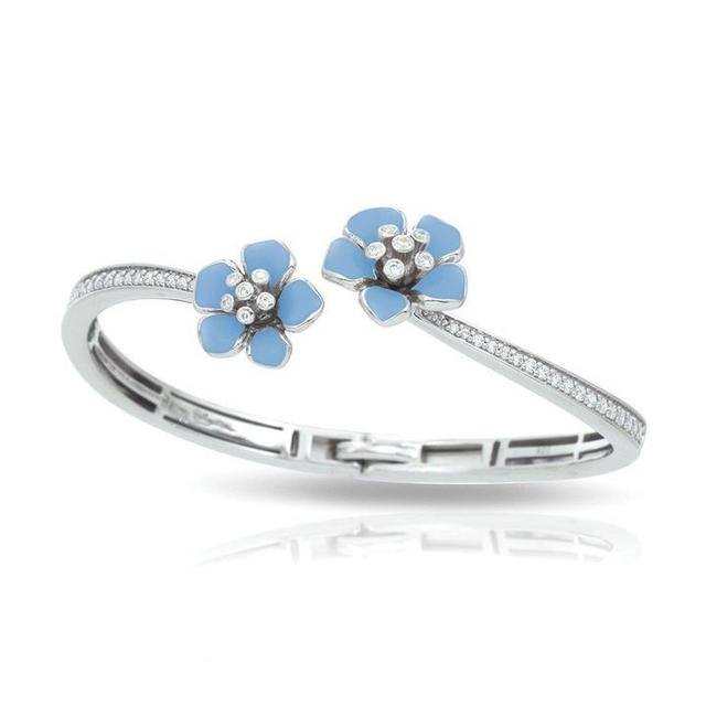 Belle Etoile Forget - Me - Not Serenity Blue Bangle image 2