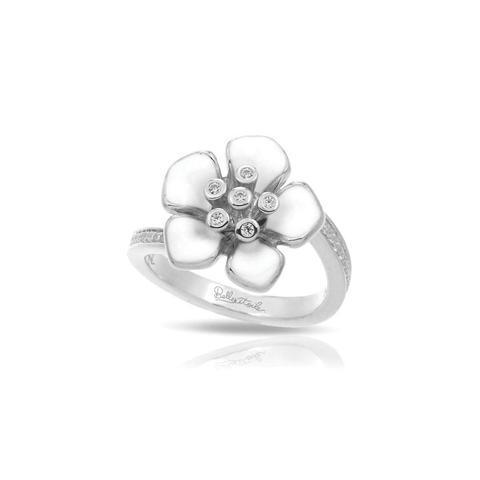 Belle Etoile Forget - Me - Not White Ring image 2