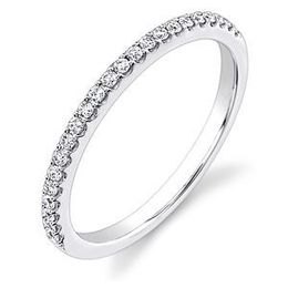Alluring Diamond Wedding Band By Stardust