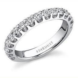 Exquisite Diamond Wedding Band by Stardust